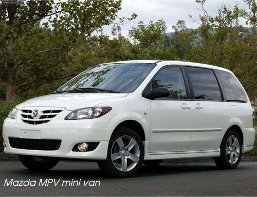 Mazda MPV mini van