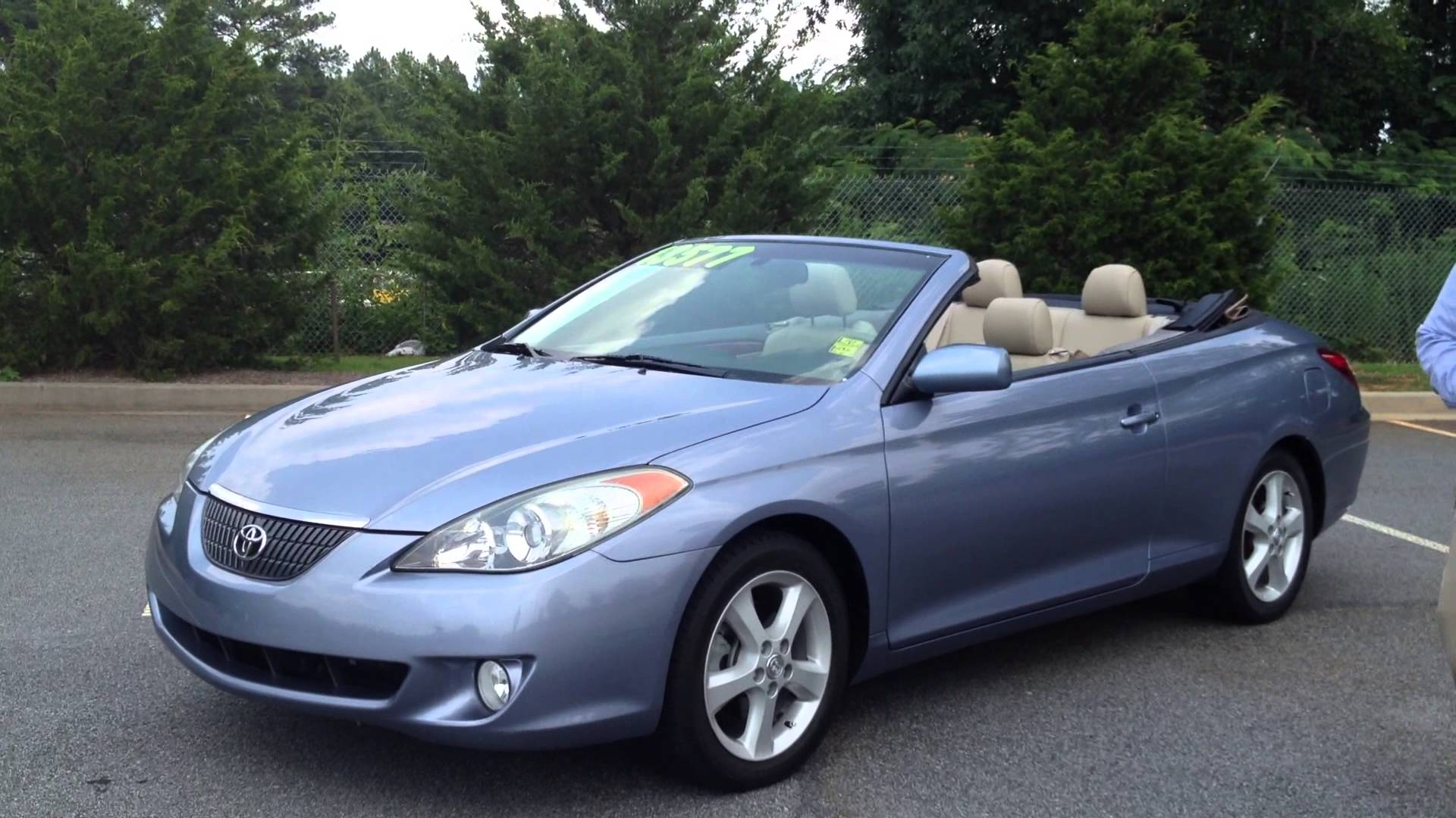 View Larger Image Toyota Solara Convertible